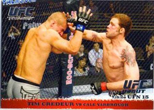 Topps UFC 2009 Round 1 Tim Credeur #89