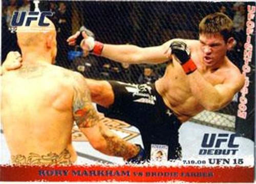 Topps UFC 2009 Round 1 Rory Markham #90