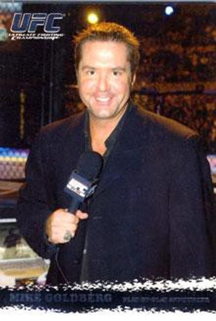 Topps UFC 2009 Round 1 Mike Goldberg #95