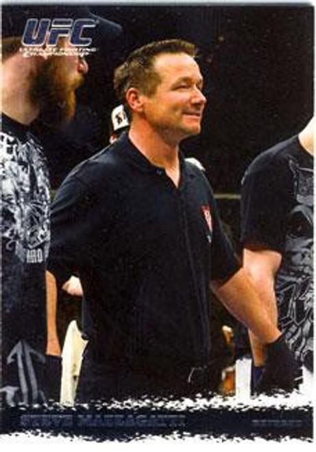 Topps UFC 2009 Round 1 Steve Mazzagatti #92
