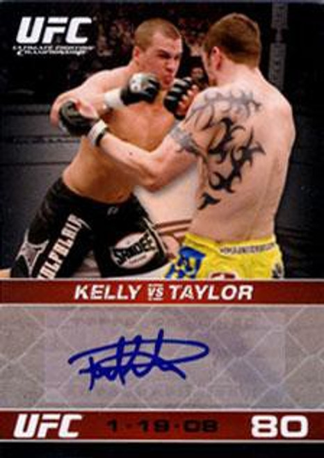Topps UFC 2009 Round 1 Paul Kelly Autograph Card A-PK