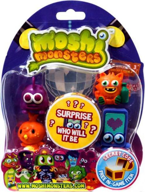 Moshi Monsters Moshlings Series 3 Mini Figure 5-Pack