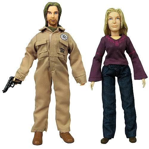 Lost Series 4 James Ford & Juliet Burke Action Figures