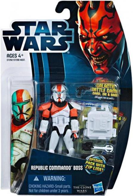Star Wars The Clone Wars 2012 Republic Commando Boss Action Figure CW11