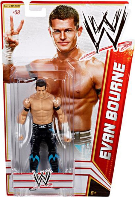WWE Wrestling Series 19 Evan Bourne Action Figure #38