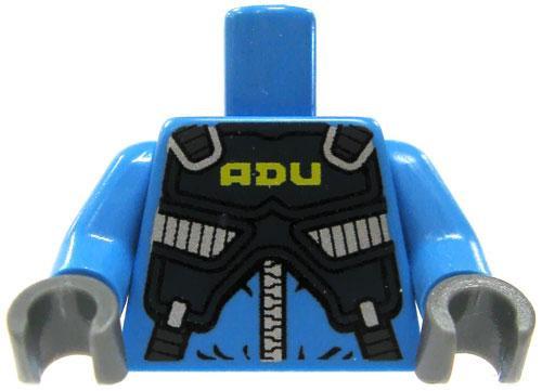 LEGO Light Blue with Armored ADU Vest Loose Torso [Loose]
