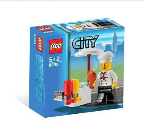 LEGO City BBQ Stand Set #8398