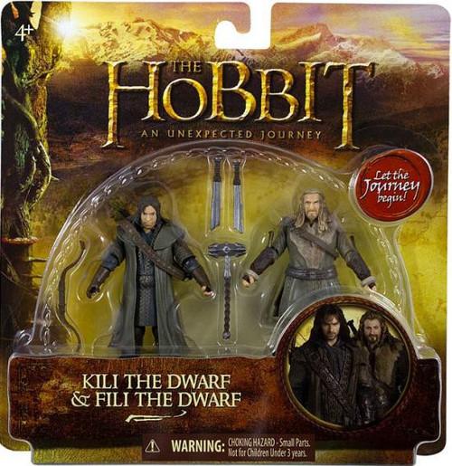 The Hobbit An Unexpected Journey Kili & Fili Action Figure 2-Pack