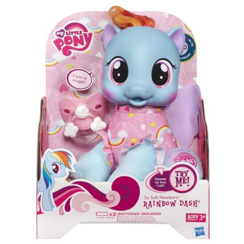 My Little Pony So Soft Newborn Rainbow Dash Doll