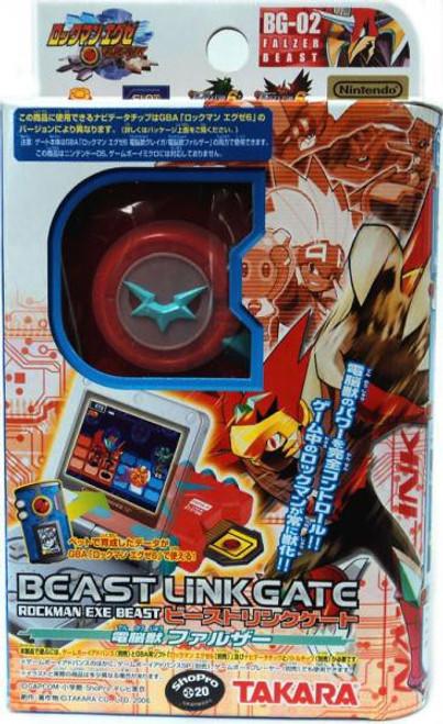 Mega Man Japanese Beast Link Gate Falzer PET BG-02