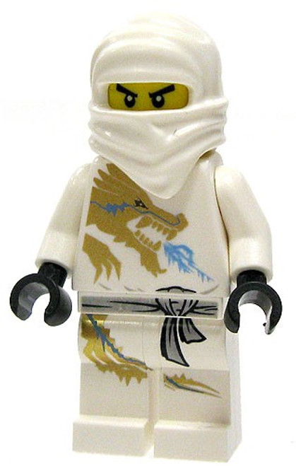 LEGO Ninjago The Golden Weapons Zane DX (Dragon eXtreme Suit) Minifigure [Loose]