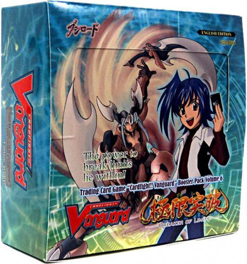 Cardfight Vanguard Breaker of Limits Booster Box [30 Packs]