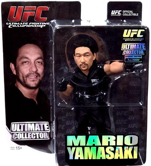 UFC Ultimate Collector Brazil Mario Yamasaki Exclusive Action Figure