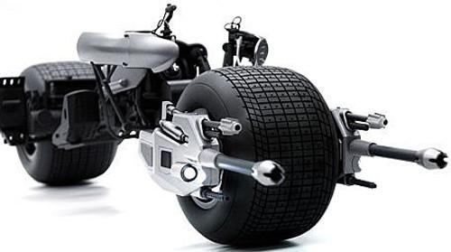 Batman The Dark Knight Rises Movie Masterpiece Bat-Pod Collectible Vehicle