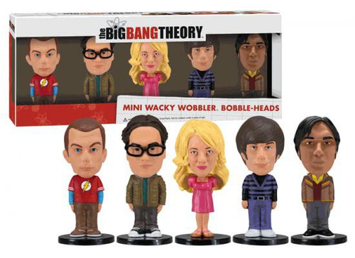 Funko Wacky Wobbler The Big Bang Theory 5-Pack Mini Bobble Heads