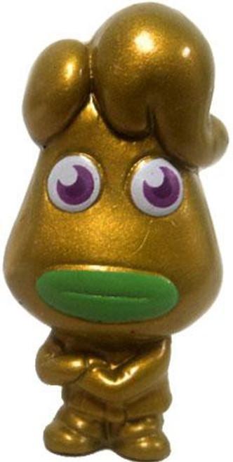 Moshi Monsters Moshlings Series 3 Eeky Groanas 1.5-Inch Mini Figure M07 [Gold]