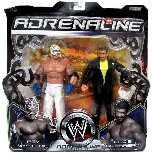 WWE Wrestling Adrenaline Series 15 Rey Mysterio vs. Eddie Guerrero Action Figure 2-Pack