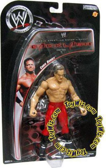 WWE Wrestling Backlash Series 7 Chris Benoit Action Figure