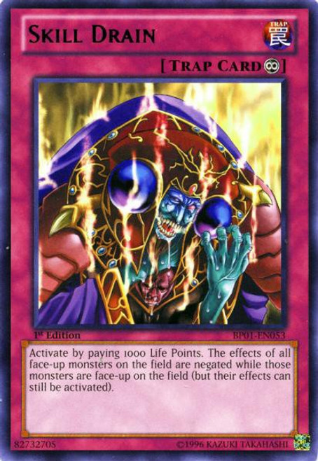 YuGiOh Battle Pack: Epic Dawn Rare Skill Drain BP01-EN053