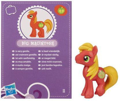 My Little Pony Series 2 Big Macintosh 2-Inch PVC Figure