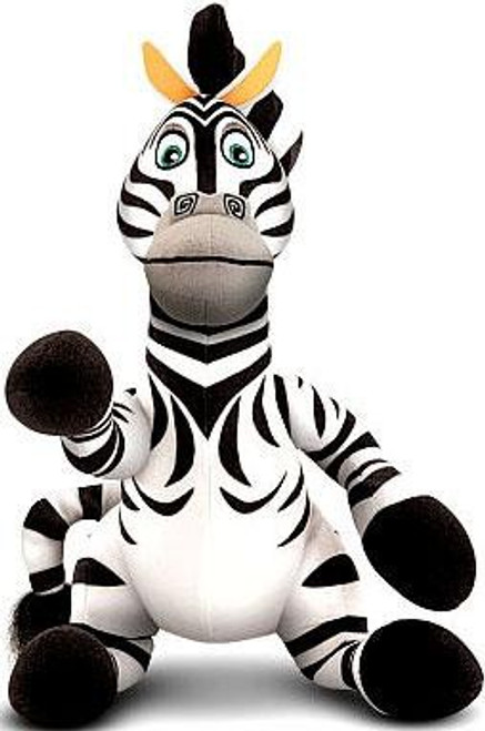 World of Madagascar Marty Exclusive 10-Inch Plush [Talking]