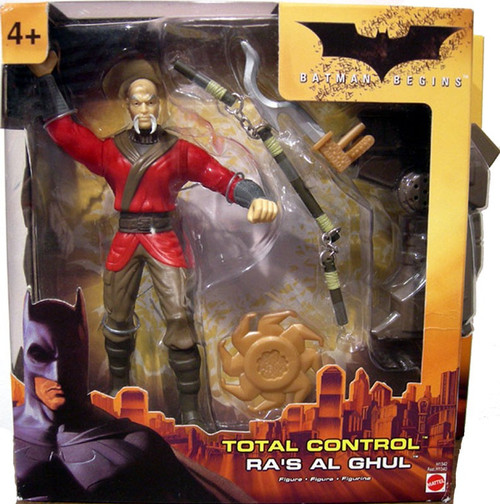 Batman Begins Total Control Ra's Al Ghul Figure