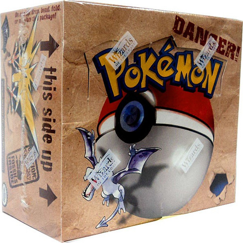 Pokemon Trading Card Game Fossil Booster Box [36 Packs]