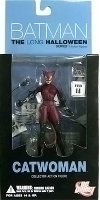 Batman The Long Halloween Series 1 Catwoman Action Figure