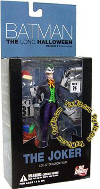 Batman The Long Halloween Series 1 The Joker Action Figure