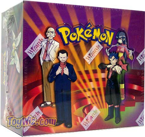 Pokemon Trading Card Game Gym Challenge Booster Box [36 Packs]