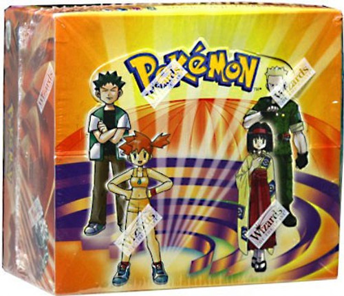 Pokemon Trading Card Game Gym Heroes Booster Box [36 Packs]