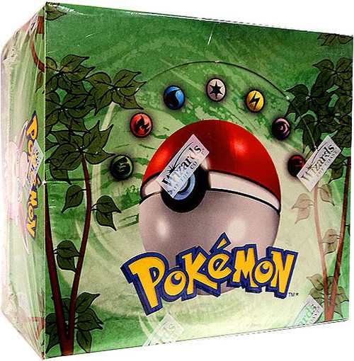Pokemon Trading Card Game Jungle Booster Box [36 Packs]