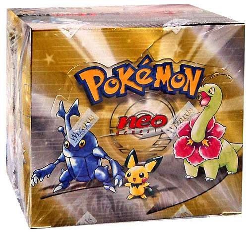 Pokemon Trading Card Game Neo Genesis Booster Box [36 Packs]