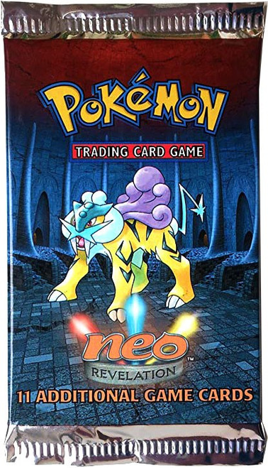 Pokemon Trading Card Game Neo Revelation Booster Pack [11 Cards]