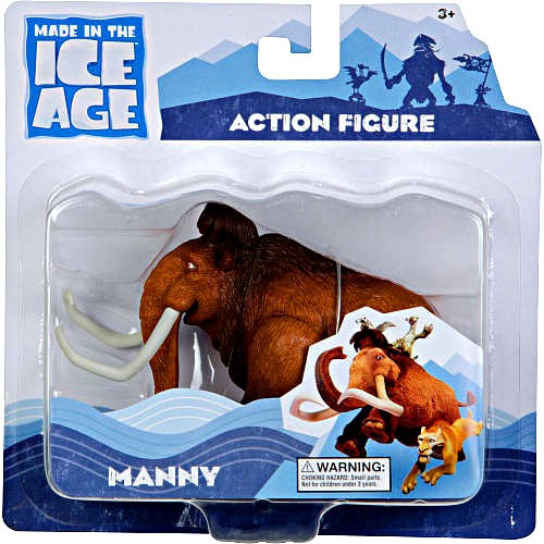 Ice Age Continental Drift Manny Action Figure