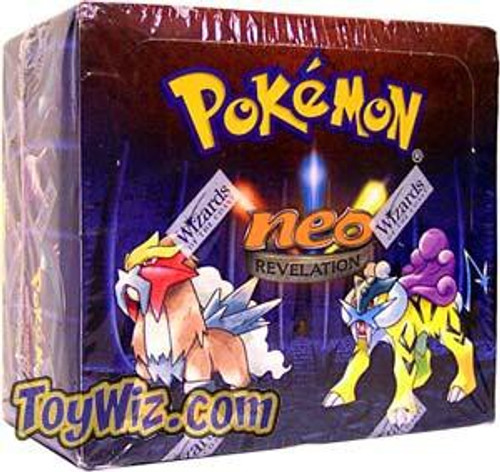 Pokemon Trading Card Game Neo Revelation Booster Box [36 Packs]