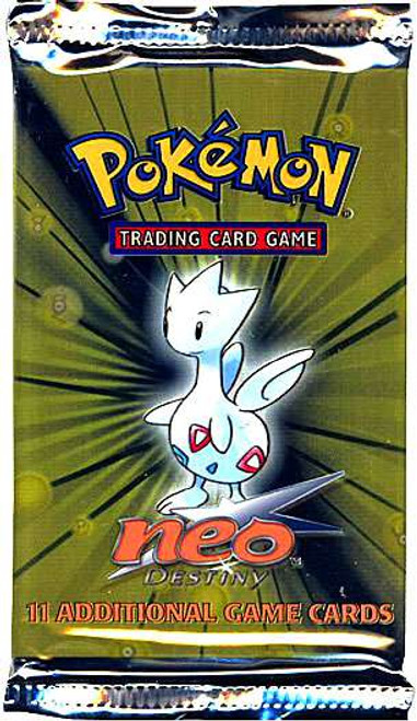 Pokemon Trading Card Game Neo Destiny Booster Pack [11 Cards]