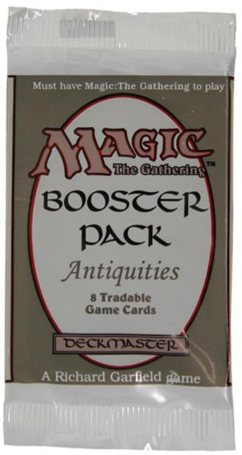 MtG Trading Card Game Antiquities Booster Pack [8 Cards]