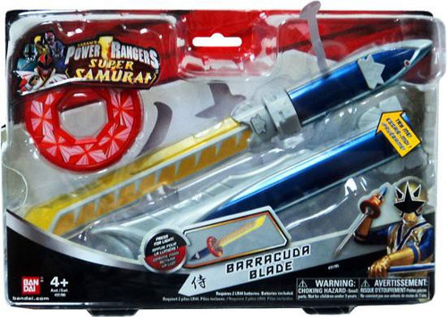 Power Rangers Super Samurai Barracuda Blade Roleplay Toy