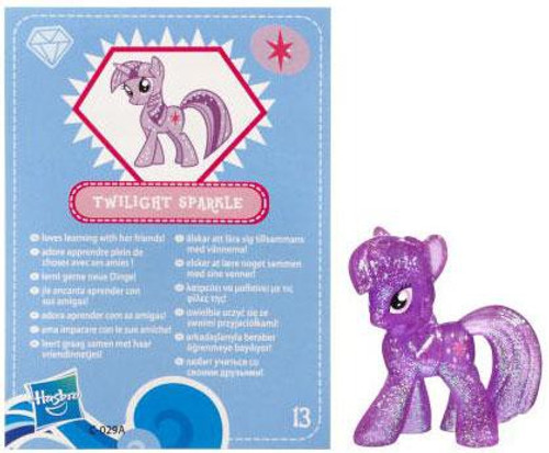 My Little Pony Series 3 Glitter Twilight Sparkle 2-Inch PVC Figure