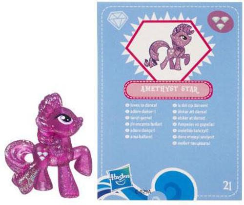 My Little Pony Series 3 Glitter Amethyst Star 2-Inch PVC Figure