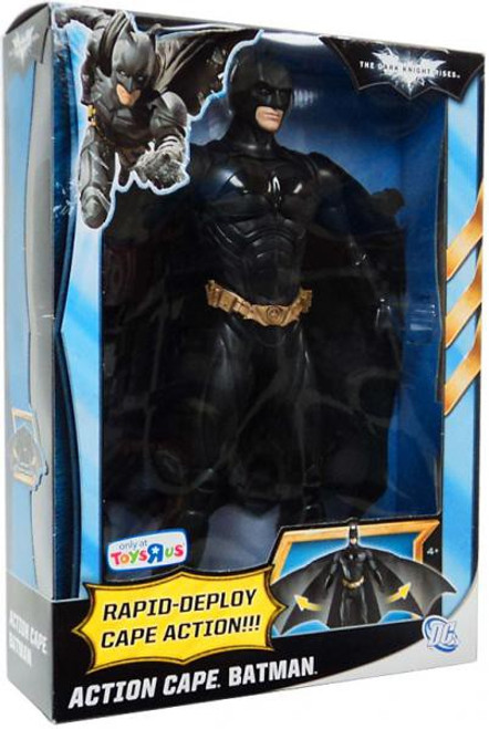 The Dark Knight Rises Batman Exclusive Action Figure [Action Cape]