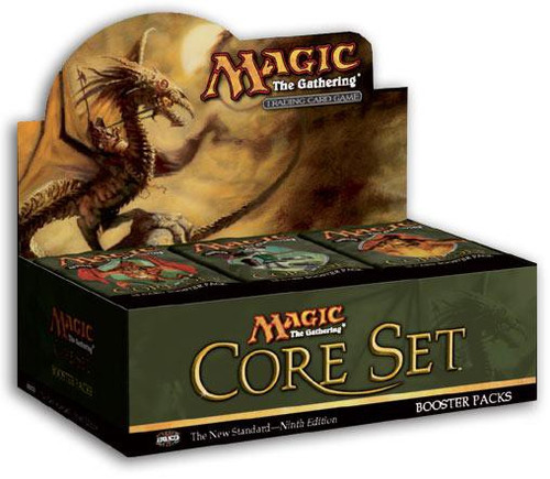 MtG Trading Card Game 9th Edition Booster Box [36 Packs]
