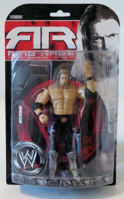 WWE Wrestling Ruthless Aggression Series 18.5 Ring Rage Edge Action Figure