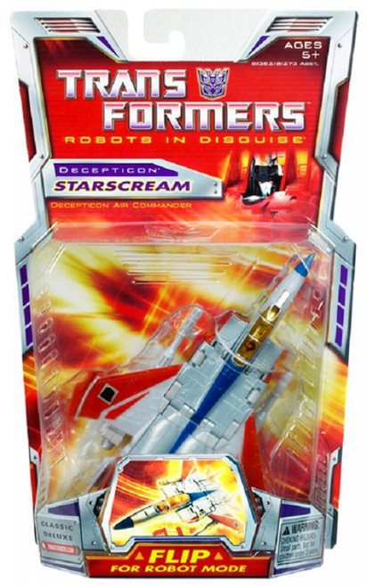 Transformers Robots in Disguise Classics Deluxe Starscream Deluxe Action Figure
