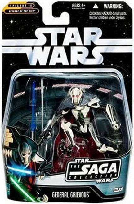 Star Wars Revenge of the Sith 2006 Saga Collection General Grievous Action Figure #30