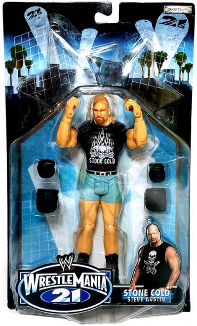 WWE Wrestling WrestleMania 21 Series 3 Stone Cold Steve Austin Exclusive Action Figure
