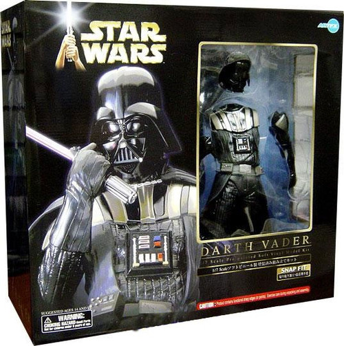 Star Wars ArtFX Snap Fit Darth Vader Vinyl Statue