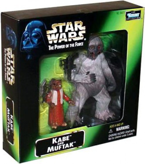 Star Wars A New Hope Power of the Force POTF2 Kenner Collection Kabe & Muftak Exclusive Action Figure 2-Pack