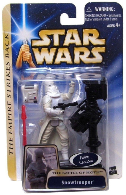 Star Wars The Empire Strikes Back Snowtrooper Action Figure #19 [The Battle of Hoth]